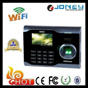 3 Inch TFT Screen Zk Software WiFi Biometric Fingerprint Time Attendance Machine pictures & photos