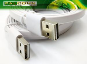 USB2.0 Type a to Type C, Flat Charging Cable, Color~White, Current Rating~3A, Cable Assemble Voltage Drop: 3A 400mv Max. Phone Accessories pictures & photos