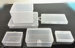 PP Box, Injection Way. Rectangle or Square Shape, with Hook/Without Hook pictures & photos