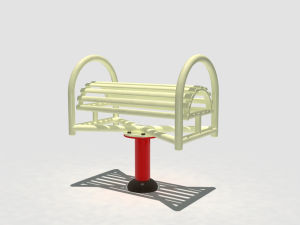 Hot Sale High Quality Big Wheel Machine Outdoor Fitness Equipment Park Goods pictures & photos