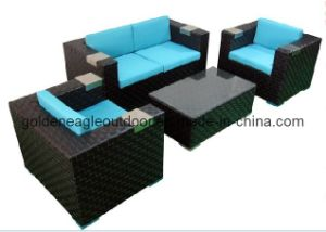 2014 New Design Garden Sofa Rattan Furniture (S0163)