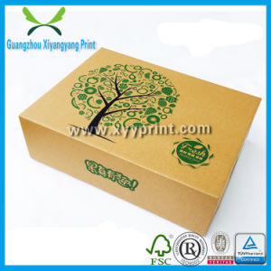 Take Away Fast Food Kraft Paper Packaging Boxes pictures & photos