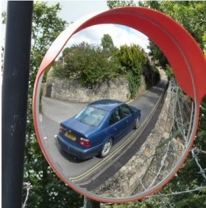 Outdoor Acrylic Traffic Convex Mirror pictures & photos
