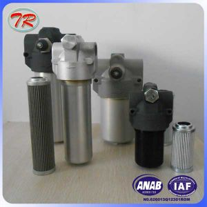 China Suppy 25micron Hydraulic Medium Pressure Line Oil Filter pictures & photos