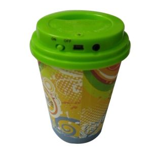 Newest Coffee Cup Mini Speakers (6154A)