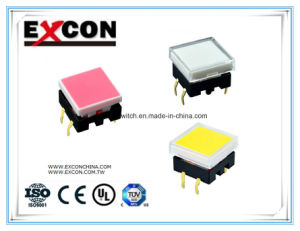 Ts12 Light Color Customed Tact Switch Manufacture Switches pictures & photos