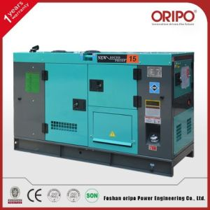 Soundproof 30kw Cummins Diesel Generator with Certificate pictures & photos