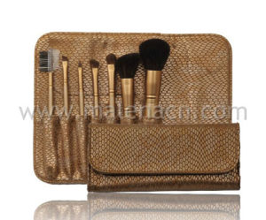 Synthetic Hair Makeup Brush Cosmetic Brush with Travel Pouch pictures & photos