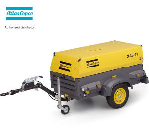 Xas37kd Kubota Diesel Engine (2m3/min 7bar) Atlas Copco Portable Compressor pictures & photos