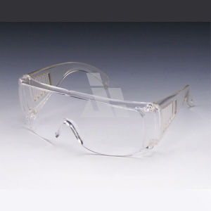 Eye Protective Anti Fog Chemical Splash Bifocal Clear Lens Safety Glasses Goggles pictures & photos