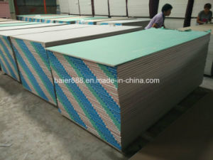 Gypsum Board Mannufactrue in China/1200X2400/1220X2440X7-15mm pictures & photos