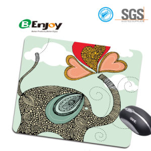 Custom Design Anti-Slip Laptop Mice Pad for Optical Laser Mouse pictures & photos