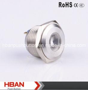 CE RoHS 16mm DOT-Illuminated Signal Lamp pictures & photos