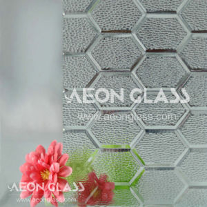 3mm Clear Figured Glass pictures & photos
