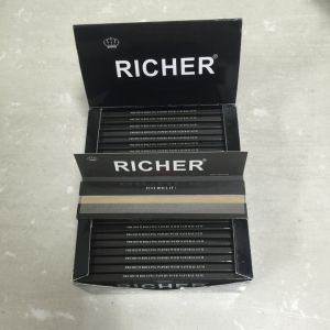 High Quality 90*65mm Bambu Style Cigarette Rolling Paper pictures & photos