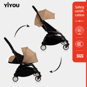 Single Front Wheel Steel Tube Baby Stroller pictures & photos