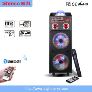 Popular Rechargeable Bluetooth Karaoke Speaker P151 pictures & photos