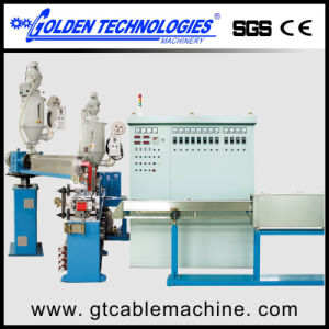 PVC Coated Wire Cable Extruder Line pictures & photos
