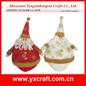 Christmas Decoration (ZY13L208-1-2 33CM) Christmas Artificial Santa pictures & photos