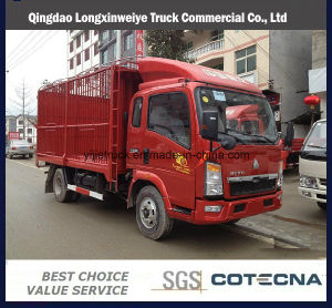 3-5 Tons Light Truck Sinotruk HOWO Light Cargo Truck pictures & photos