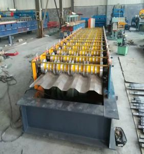 Steel Container Plate Roll Forming Machine pictures & photos