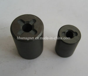 Permanent Injection Multi-Pole Ferrite Motor Rotor Magnet pictures & photos