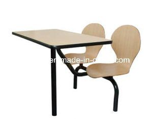 Chinese Wholesale Furniture Metal Legs Chair and Table (FOH-CBC05) pictures & photos