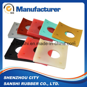 Custom NBR FKM PU Silicone Rubber Reinforced Diaphragms pictures & photos