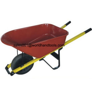 Straight Handle Wheelbarrow for North America and EU Market pictures & photos