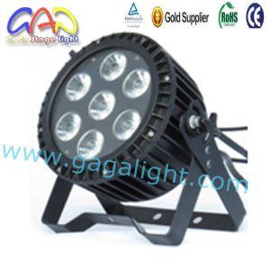 Mini PAR Slim PAR RGBWA UV 6in1 7X18W PAR Can Wash Light pictures & photos