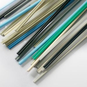 Oblate Shape PVC Plastic Welding Rod pictures & photos