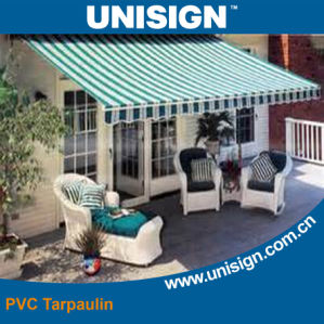 Anti-UV, Waterproof PVC Tarpaulin for Sunshade pictures & photos