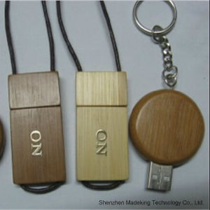 Fashion Bamboo and Wooden USB Flash Drive pictures & photos
