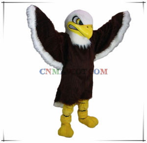 Toppest Quality Long Plush Mascot Costume Eagle Animal Mascot pictures & photos