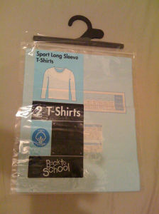 Custom Printed Ziplock LDPE Bags with Hanger for Clothing (FLH-8707) pictures & photos
