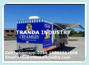Fully Hot Dipped Galvanised Mobile Food Truck Trailers Van pictures & photos