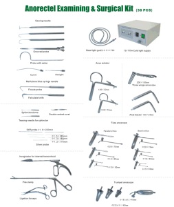 2017 Factory Price Safute Proctolscopy Kits 15 PCS pictures & photos
