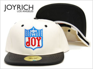 Logo Embroidery Patchwork Leather Bboy Baseball Cap pictures & photos
