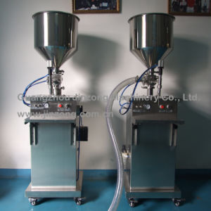 Jinzong Machinery Liquid/Cream Semi-Automatic Filling Machine pictures & photos
