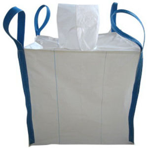 White Color 100% Virgin PP Big Bag Holand Bag