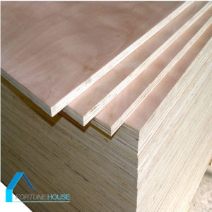 China Manufacturer of BB/CC Okoume, Birch F/B, Poplar Core Commercial Plywood pictures & photos