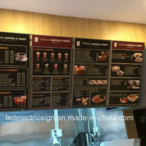 Restaurant Equipment with Aluminium LED Light Box Menu pictures & photos
