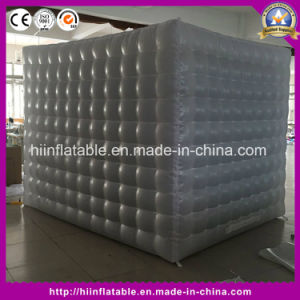Promotional New LED Inflatable Square Photo Booth Shell for Sale pictures & photos