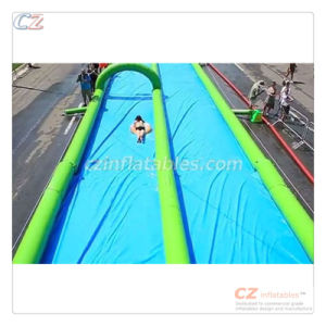 Hot Sale 500FT Slip and Slide Inflatable Slide The City