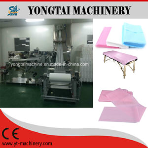 Disposable Medical and Surgical Automatic Nonwoven Bed Sheet Folding Machine pictures & photos