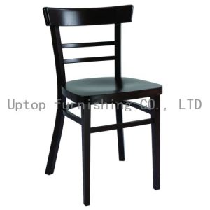Commercial Black European Beech Wood Restaurant Chair (sp-ec702) pictures & photos