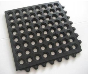 Outdoor Interlocking Rubber Flooring Mat pictures & photos