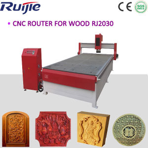 Large Format CNC Wood Router with 8 Zones Vacuum Table Rj2030 pictures & photos