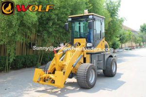 Wolf New Model Zl10 Small Loader with Skid Quick Coupler pictures & photos