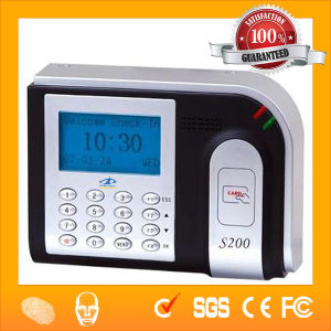 Excel Reports Software RFID Card Time Attendance S200